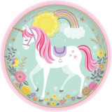 Farfurii unicorn magic 23 cm