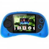 Consola jocuri portabila Serioux, ecran 2.7, 200 jocuri incluse, culoare albastru