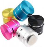 Mini Boxa cu Amplificare prin Vibratii Sunet 360 de grade Radio si MP3