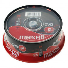 Mediu optic Maxell DVD-R 4.7GB 16x 10 bucati