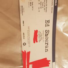 Vans Bilet Vip concert Ed Sheeran