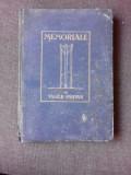 Memoriale , Vasile Parvan , 1923 (CONTINE SI 2 ARTICOLE DIN ZIAR, UNUL DESPRE MERIALELE SI MUNUL DE SPRE VASILE PARVAN)