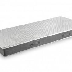 Saltea Domine MultiSuport Silver Memory + lenjerie de pat cadou 90x200 Relax KipRoom