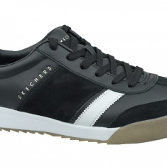 Incaltaminte sneakers Skechers Zinger-Scobie 52322-BKW pentru Barbati