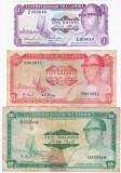 Bancnote Set Gambia 1 5 10 Dalasis - 1972 - 1986 - vand bancnotele din imagine