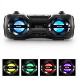 Auna Soundblaster M, max. 50W, boombox cu bluetooth 3.0, CD / MP3 / USB, FM, LED