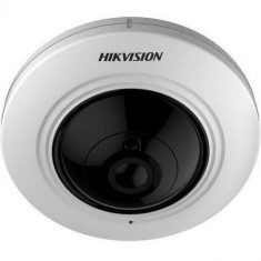 Camera supraveghere Hikvision TurboHD FishEye 5MP IR 20m White