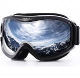 JULI Ochelari de ski snowboard unisex - protectie UV400 si anti aburire, oglinda