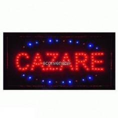 Panou Afisaj Reclama cu LED 50x25cm Cazare