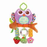 Cumpara ieftin Jucarie zornaitoare din plus, Campanula Owl, 32 cm, Purple