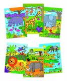 Water Magic: Carte de colorat Safari PlayLearn Toys, Galt