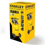 Compresor Silent Stanley 50 L 1.3 CP / 1000W 8Bar 150 l/min 59dB - SXCMS1350VE