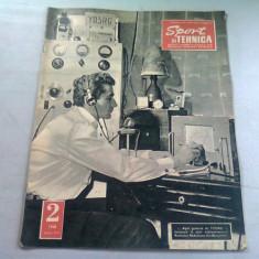 REVISTA SPORT SI TEHNICA NR.2/1968