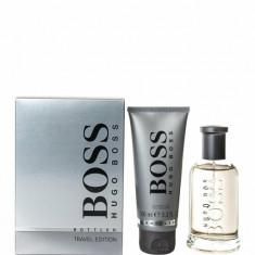 Set cadou No.6 (Apa de toaleta 100 ml + Gel de dus 100 ml), Pentru Barbati, Hugo Boss