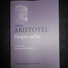 ARISTOTEL - DESPRE SUFLET