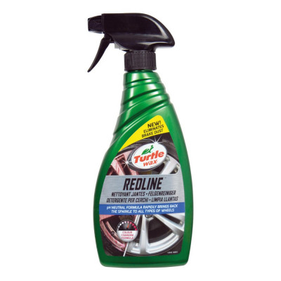Solutie curatat jante aluminiu Turtle Wax 52854 GL Red Line All Wheel Cleaner 500ml foto