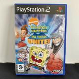 Sponge Bob square pants and friends unite, PS 2, original, alte sute de titluri