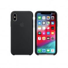 Husa silicon Apple iPhone XS (mrw72zm/a), black