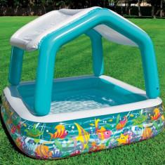 *Piscina gonflabila Sun shade pentru copii