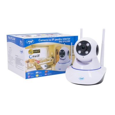 Resigilat : Camera supraveghere video PNI IP920W 1080P cu IP P2P PTZ wireless, slo foto