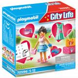 Set de Constructie Femeie la Cumparaturi, Playmobil