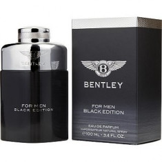 Bentley for Men Black Edition Eau de Parfum bărbați 100 ml