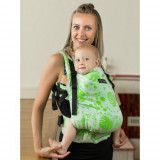 Marsupiu Isara Toddler Full Wrap Conversion Philodendra Cream