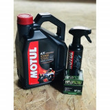 Ulei Motul 7100 10w40 plus Filtru ulei Hiflo si cadou Motul Wash & Wax