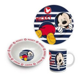 Set mic dejun 3 piese ceramica Mickey Mouse, Seturi masa, Disney