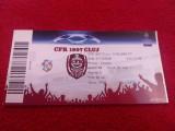 Bilet meci fotbal CFR CLUJ - CHELSEA FC (01.10.2008)