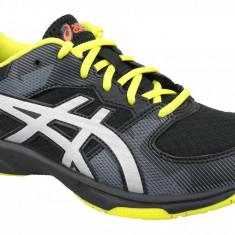 Pantofi de volei Asics Gel-Tactic GS 1074A014-001 pentru Copii, 36, 37, 37.5, 38, 39, 39.5, 40, Negru