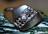 inel deosebit ! argint 925  ,  zirconiu  alb!