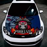 """Sticker Imprimat Color pentru Capota """"Hood Art"""" cod: KM-HOOD-250"""
