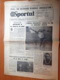 Sportul 25 iulie 1981-nadia comaneci 3 medalii de aur la universiada