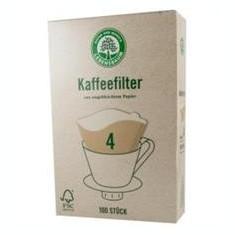 Filtre pentru Cafea Gr.4 Lebensbaum 100buc Cod: LB6304