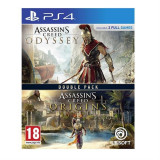 Compilation Assassins Creed Odyssey And Assassins Creed Origins Ps4