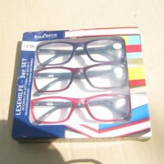 Set 3 perechi de ochelari Star optic +2,50