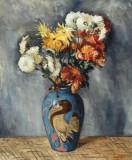 Adam Baltatu (1889-1979) - Vas cu crizanteme
