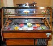 Vitrina frigorifica orizontala mezeluri, carne sau cofetarie foto