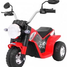 Motocicleta electrica MiniBike, rosu