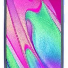 Telefon Mobil Samsung Galaxy A40, Procesor Octa-Core 1.8GHz / 1.6GHz, Super AMOLED 5.9inch, 4GB RAM, 64GB Flash, 16+5MP, Wi-Fi, 4G, Dual Sim, Android, Neblocat, 5.8'', Android OS
