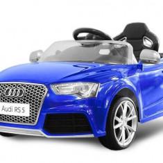 Masinuta electrica Audi RS5 2x35W STANDARD 12V MP3 Albastru