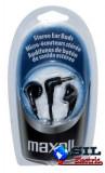 Casca in ureche 3.5mm negru EB95 Maxell, Casti In Ear, Cu fir, Mufa 3,5mm