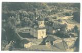 4663 - CORNET, Valcea, Monastery - old postcard, real PHOTO - used - 1934