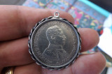 Moneda germana din argint.Drei mark 1914.Perfecta.
