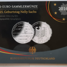 Moneda comemorativa de argint - 20 Euro 2016, Germania - Proof