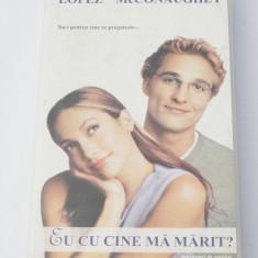Caseta video VHS originala film tradus Ro - Eu cu Cine Ma Marit?