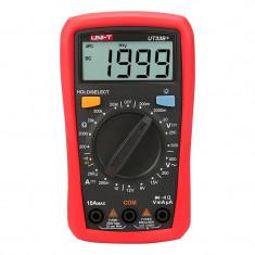 Multimetru digital UT33B+ UNI-T, ecran luminat, detectare non-contact