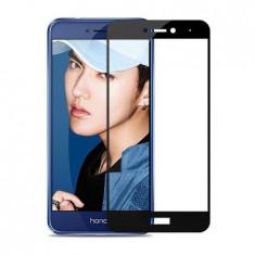 Folie sticla securizata 5D Full Glue pentru Huawei P9 Lite 2017, Negru