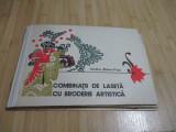 VASILICA ZIDARU-POPA--COMBINATII DE LASETA CU BRODERIE ARTISTICA - 1978